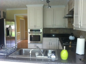 Kitchen Cabinets in recent East Cobb renovation