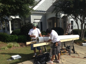 Workers Porch East Cobb Roswell Atlanta Curb Appeal