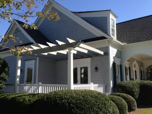 Porch Deck with Pergola Railing Fix Roswell East Cobb