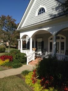 Railing Porch Closeup Roswell Atlanta Curb Appeal