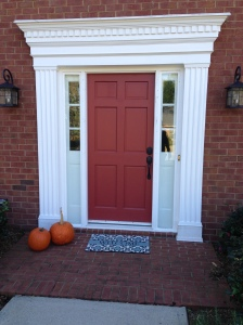 Before Picture of Door in East Cobb by photo credit Atlanta Curb Appeal