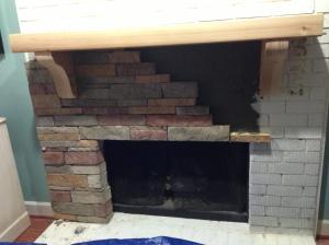 East cobb fireplace installation