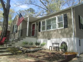 Buckhead Craftsman renovations Atlanta Curb Appeal