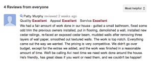 East Cobb Remodeling Customer Review