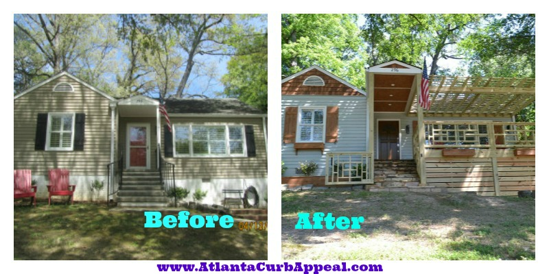 Buckhead Curb Appeal Exterior Renovations Part 2 Of