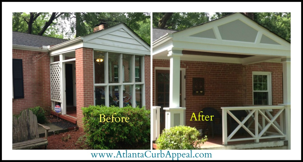 Atlanta Curb Appeal Before After Pictures