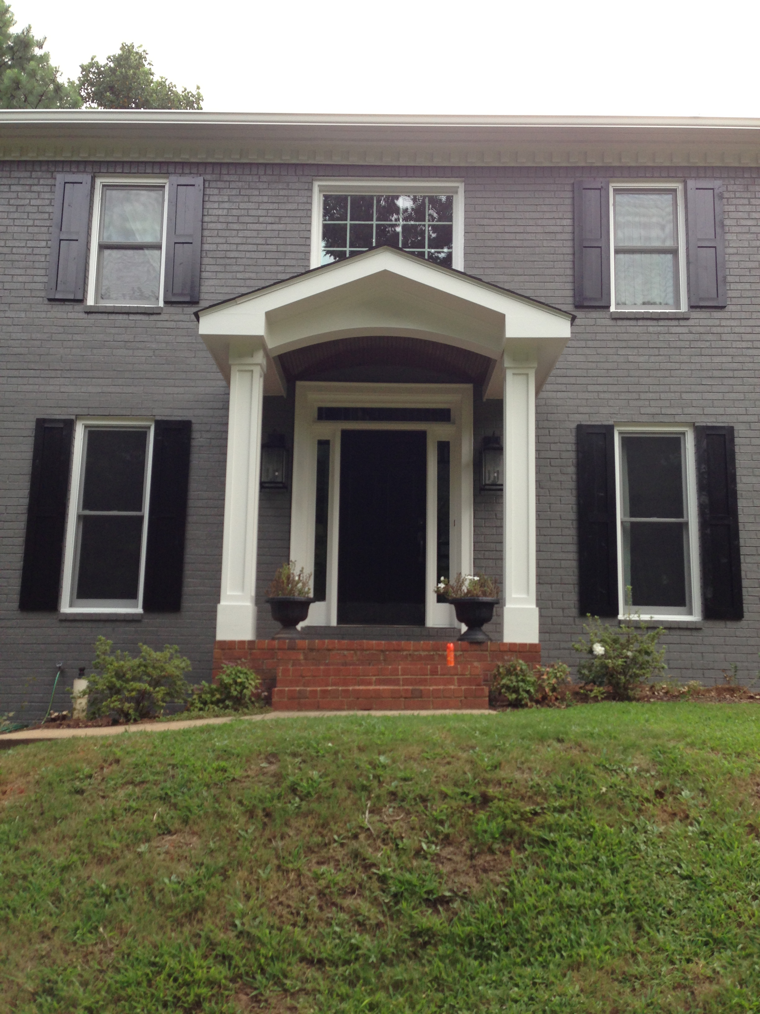 Portico Atlanta Curb Appeal