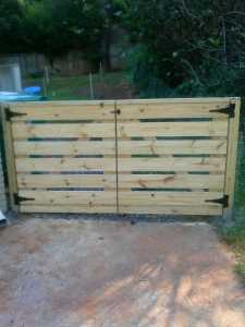Custom Fence Installation and Well Made Gates by Atlanta Curb Appeal