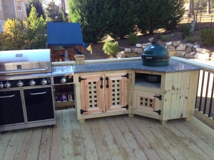 Big Green Egg Custom Outdoor Unit
