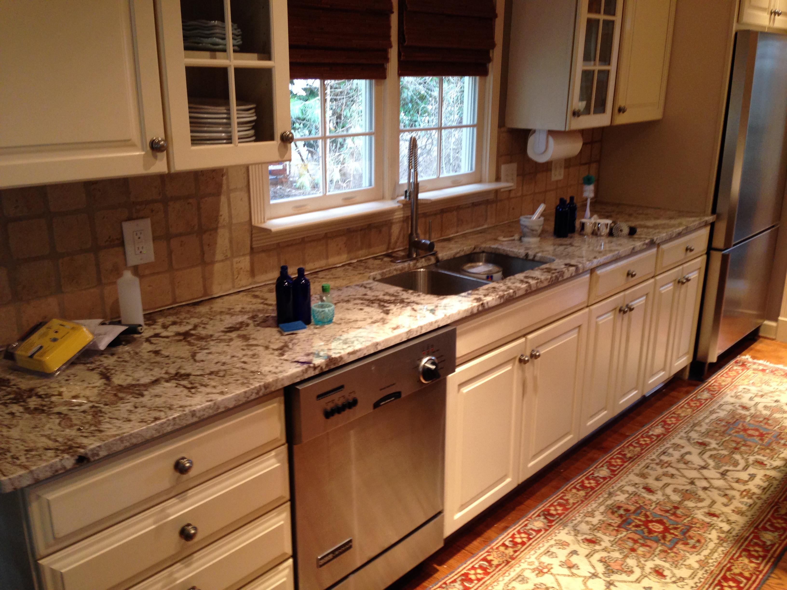 Custom kitchen island atlanta curb appeal for Custom kitchen islands