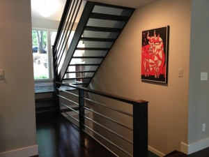 Metal and Wood Modern Staircases