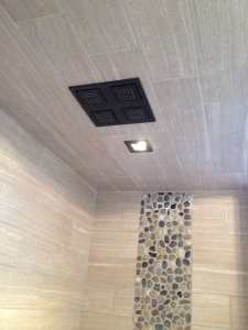 Quad Head Shower Installation