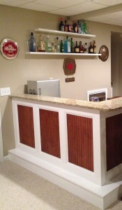 Bar in Basement