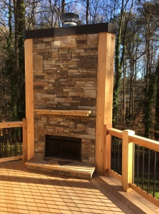 StoneworkCustomFireplace