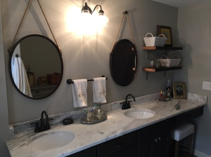 Bathroom Double Hanging Mirrors ACA